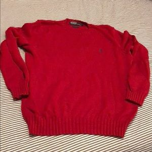 Polo Ralph Lauren sweater, sz. M, red *2 for $20*
